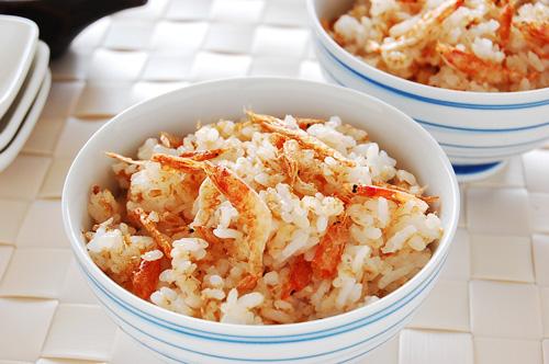 桜えびの香り満載の簡単混ぜご飯!